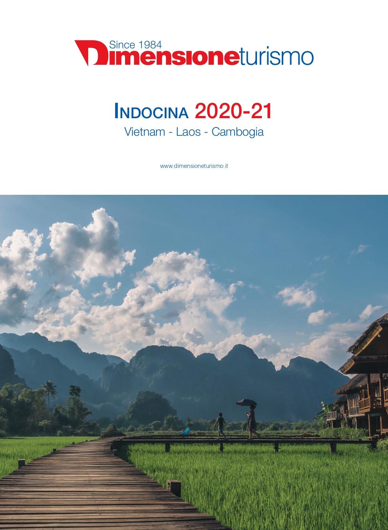 Copertina brochure Indocina