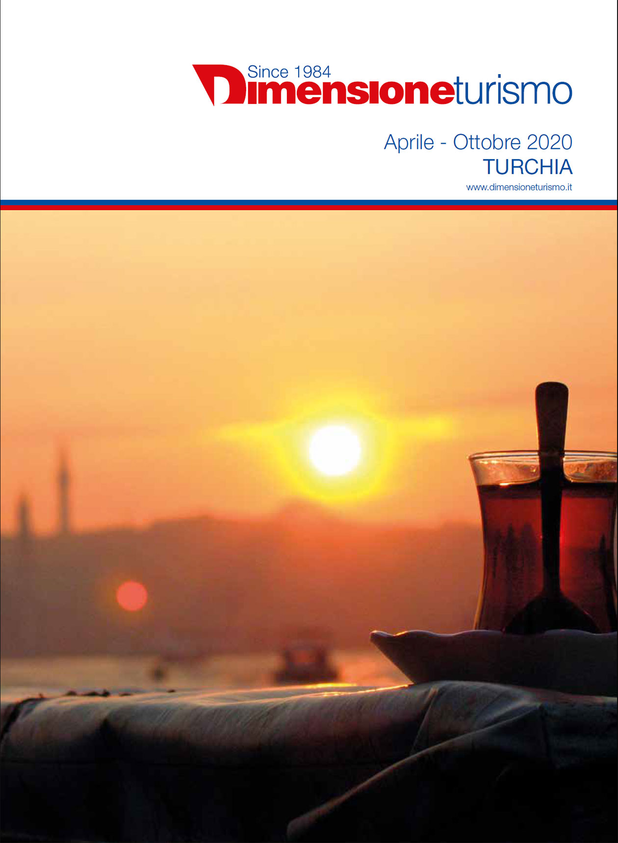 Copertina brochure Turchia