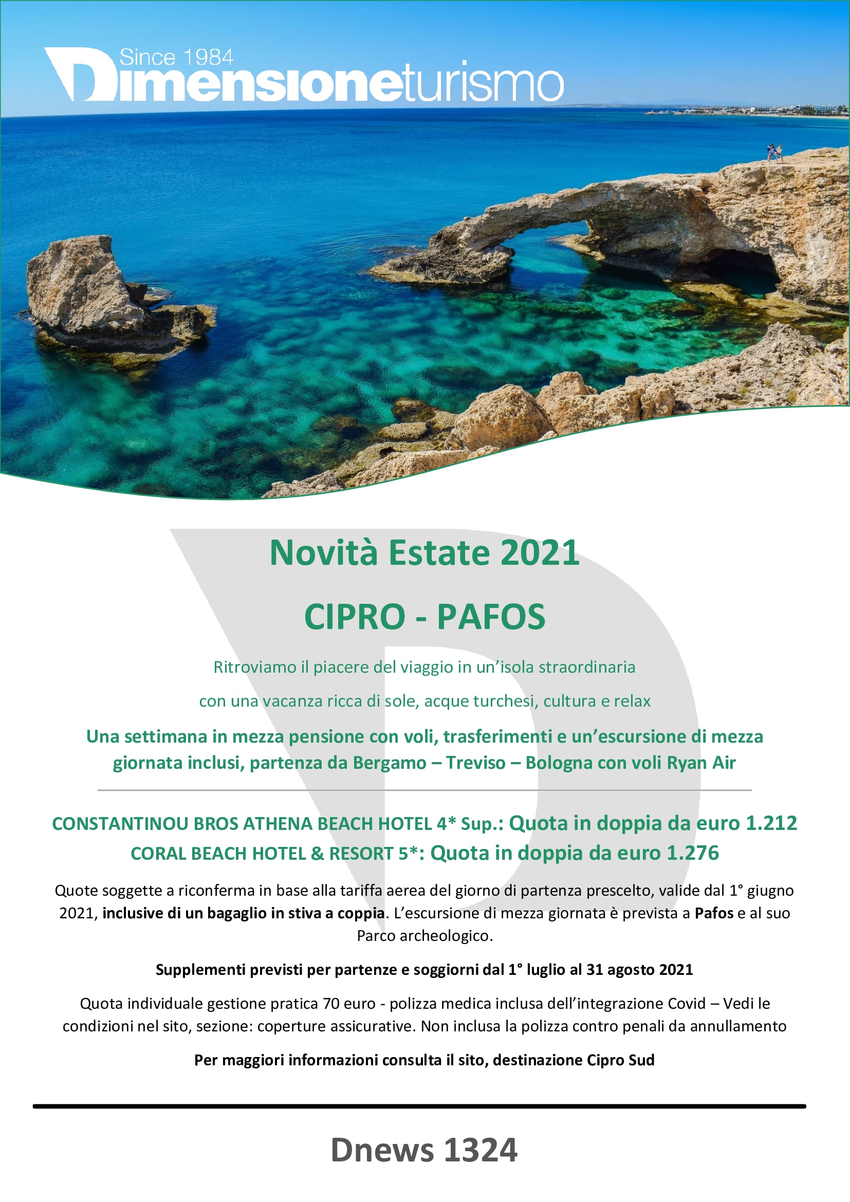 BROCHURE NOVITA ESTATE 2021 PAFOS - CIPRO SUD